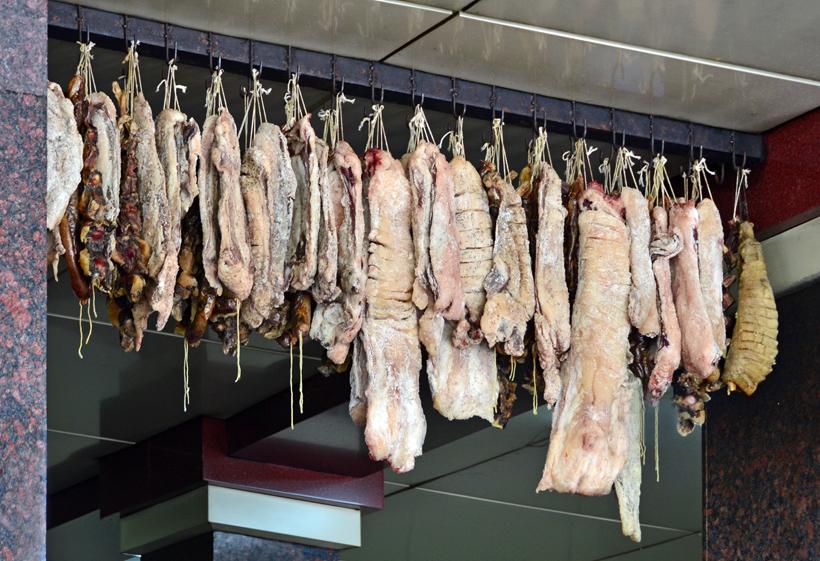 Tashkent - National Food Restaurant - Dried Meat