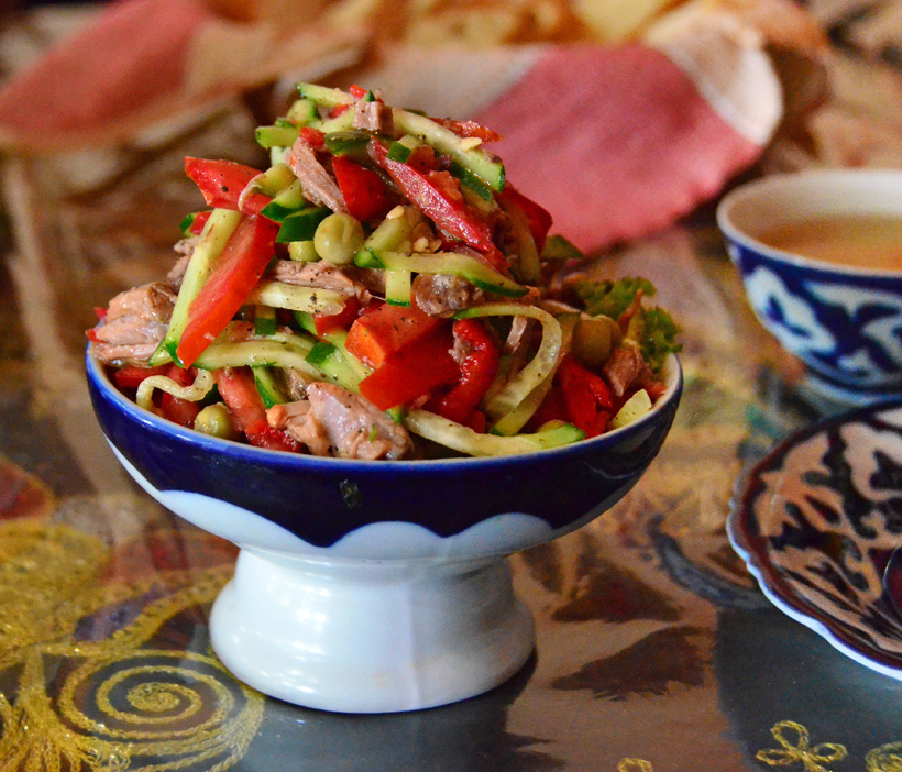 Samarkand - Restaurant Registan - Salad Registan