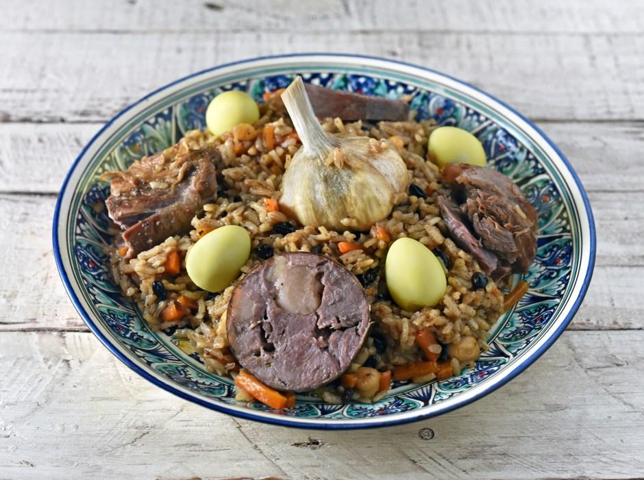 Uzbek Cuisine - Plov