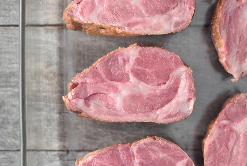 Serbian Food - Pork Neck Steaks
