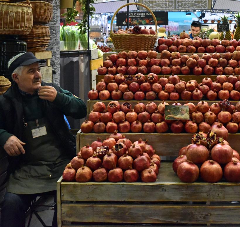 Moscow - Danilovsky Market - Produce