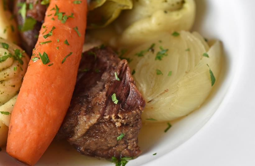 Dagestani Cuisine - Boiled Meat