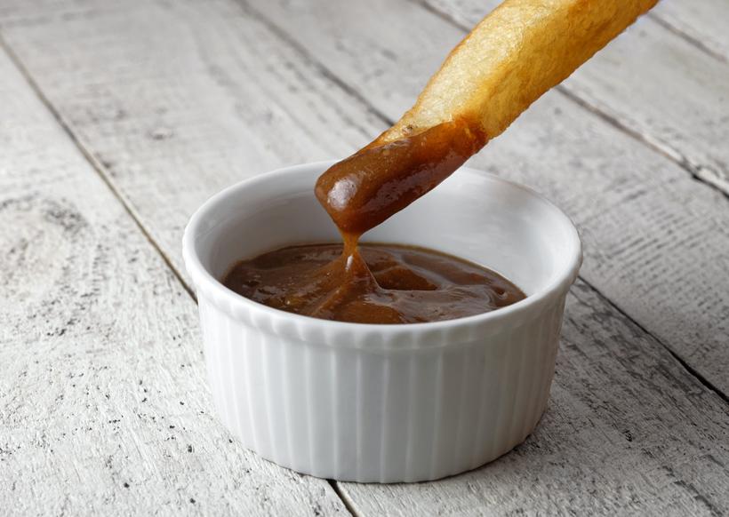 Russian Gastrocafé Goose Burger - Prune Ketchup