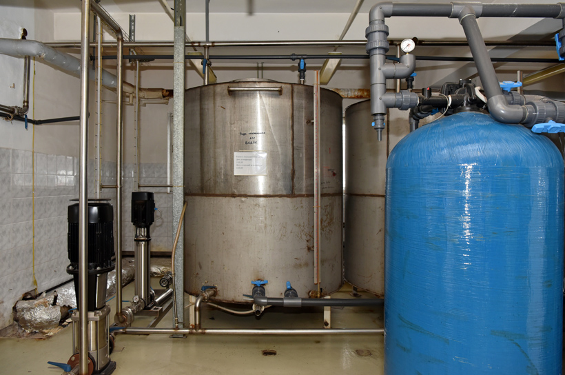 Petrovsky Liquor Factory - Water Tanks