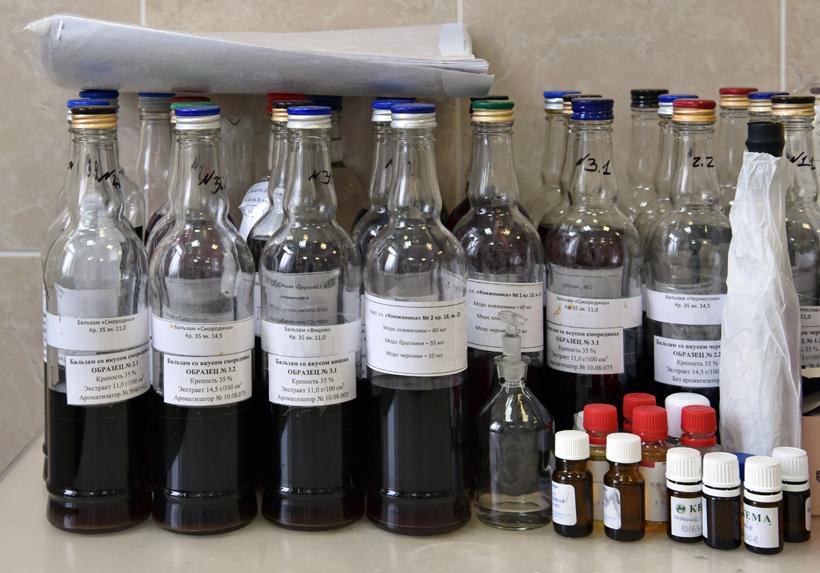 Petrovsky Liquor Factory - Balsam Samples