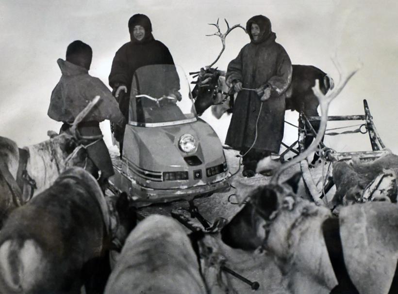Reindeer Herder Meeting on Grazing Land (1963-1972)
