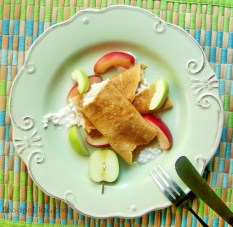 farmers cheese crepes