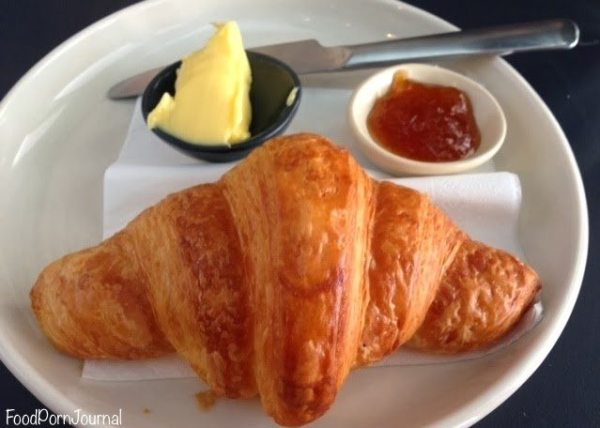 A Baker croissant