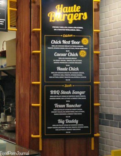 Snag Stand menu