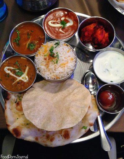 Delhi 6 thali platter