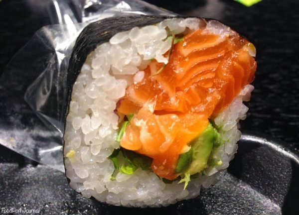 Hero Sushi salmon avocado