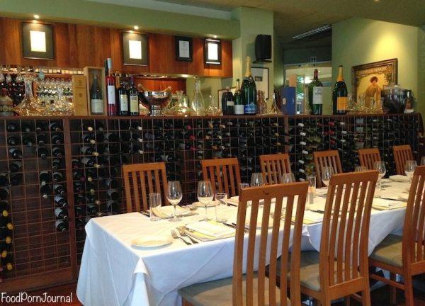 Benchmark wine bar canberra inside