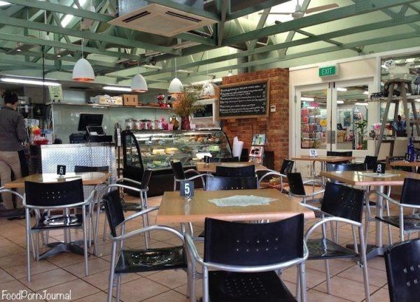 Rodney's Garden Cafe inside