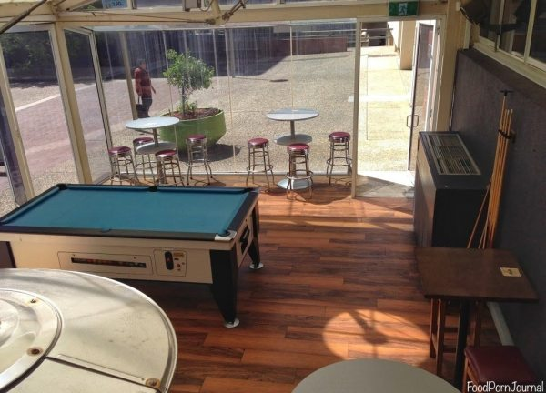 Soul Bar pool table