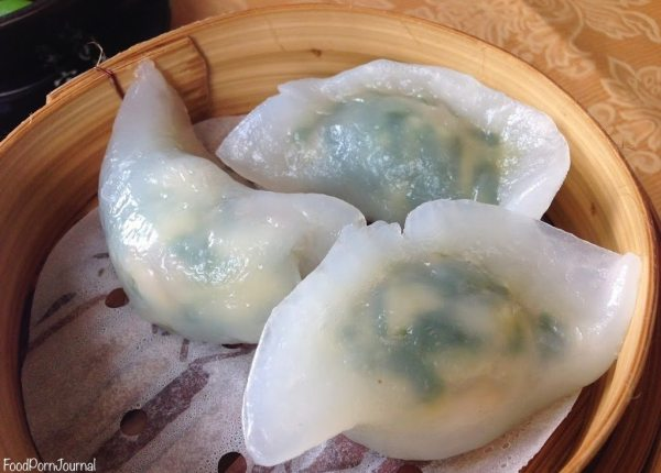 Spicy ginger yum cha dumplings chive