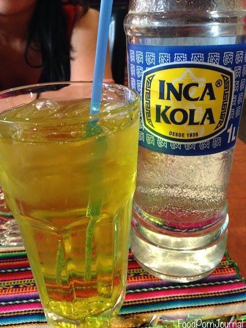 Cholo's Peruvian inca kola