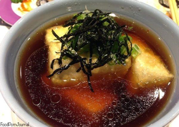Hero Sushi age dashi tofu