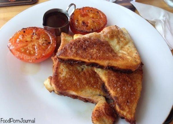 Mrs Sackville Kingston eggy toast