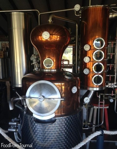 Wild Brumby Distilling machine