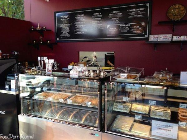 Gozleme Cafe inside