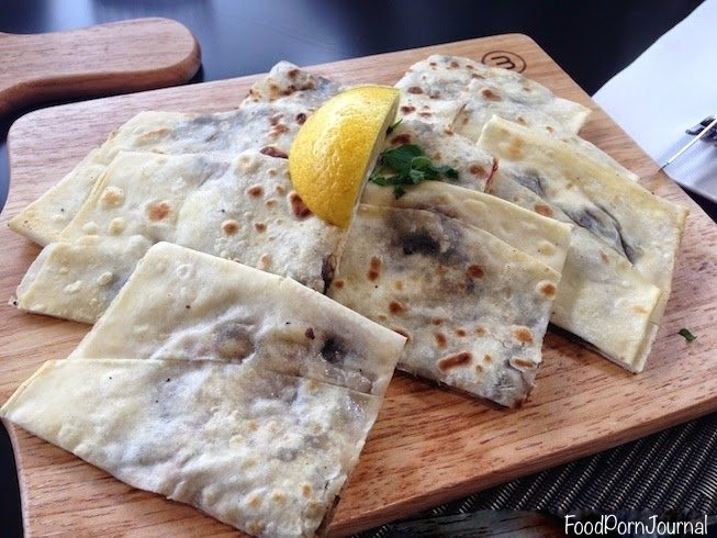 Gozleme cafe chicken