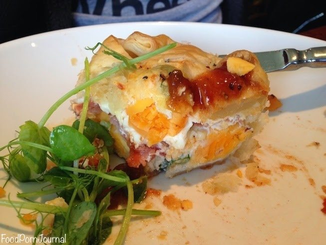 Poachers Pantry bacon egg pie 2
