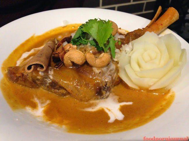 Chong Co Thai lamb shank