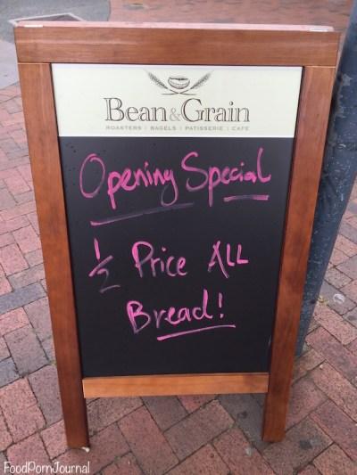 Bean & Grain Dickson bread