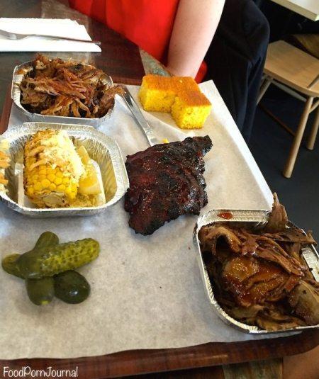 Smoque Woden BBQ trifecta