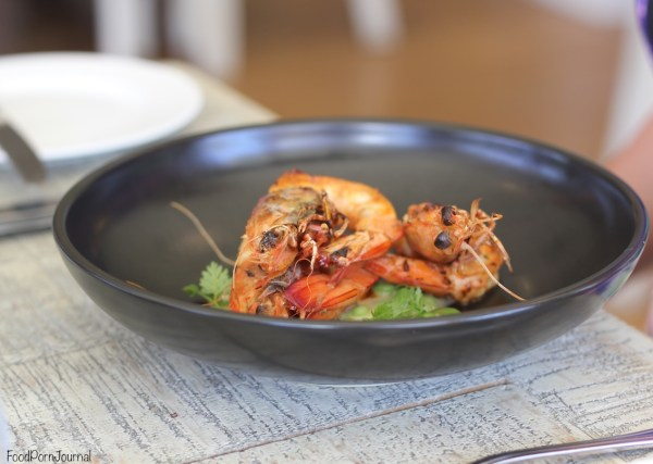 Muse Kitchen prawns