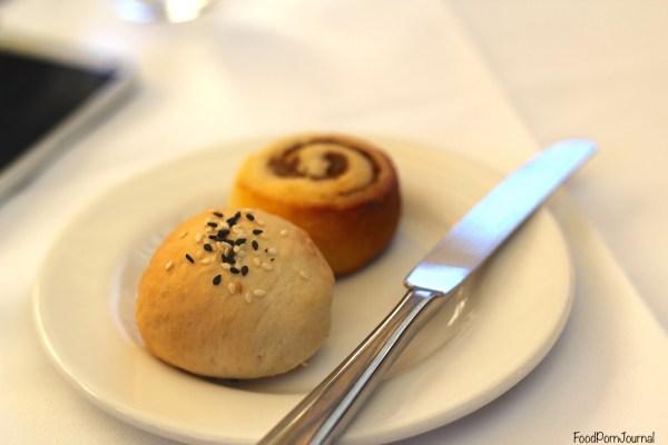 Muse Restaurant bread rolls