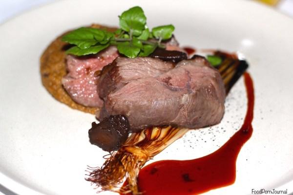 Muse Restaurant lamb