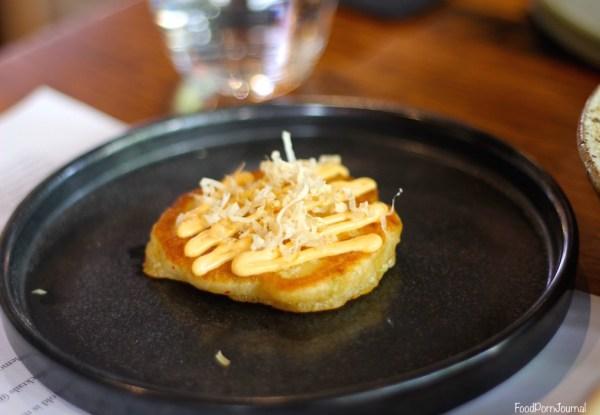 Akiba Canberra kimchi pancake