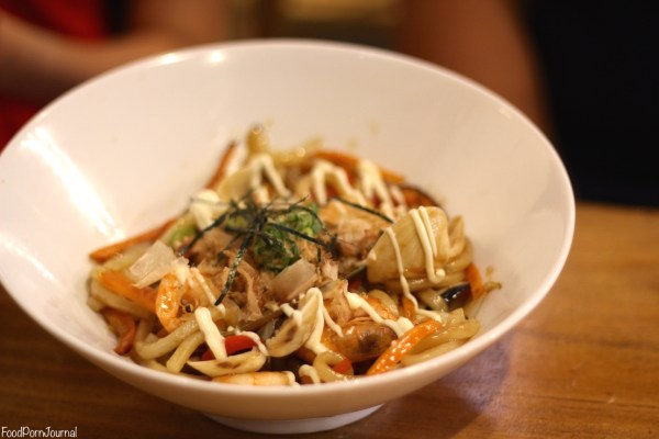 Kokoro Gungahlin seafood yaki udon