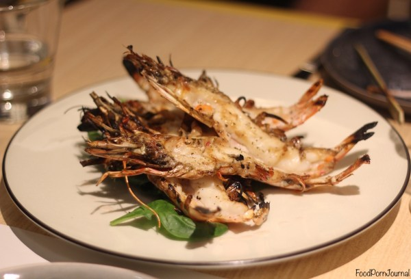 LiloTang Barton chargrilled prawn