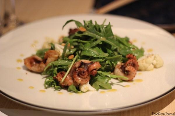LiloTang Barton octopus salad
