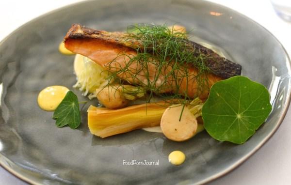 Eschalot Restaurant salmon