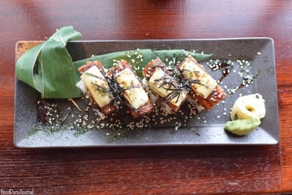 Bon Kura Dickson sushi roll