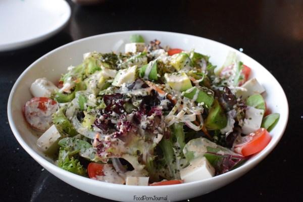 Bon Kura Dickson tofu avocado salad