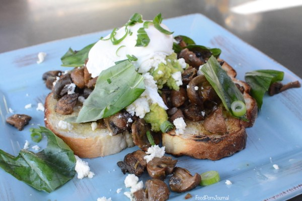 Elk and Pea Braddon shrooms breakfast