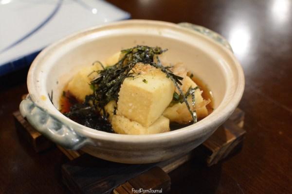 Shin Sen Dickson agadashi tofu
