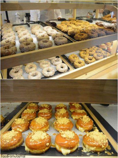 Short Stop Melbourne doughnut display