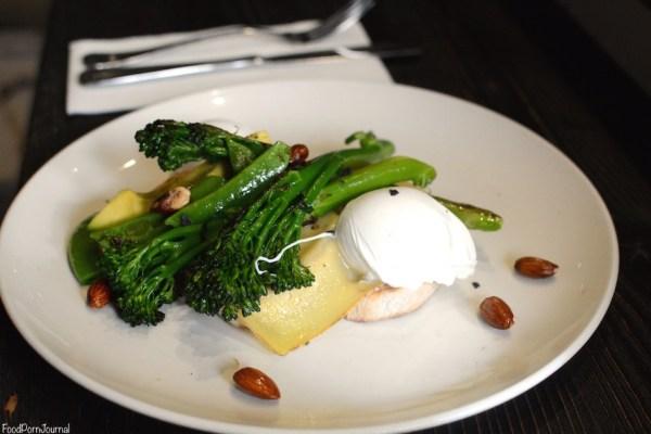 Top Paddock Melbourne broccolini egg breakfast