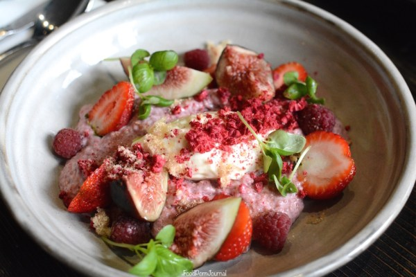 Top Paddock Melbourne raspberry chia pudding