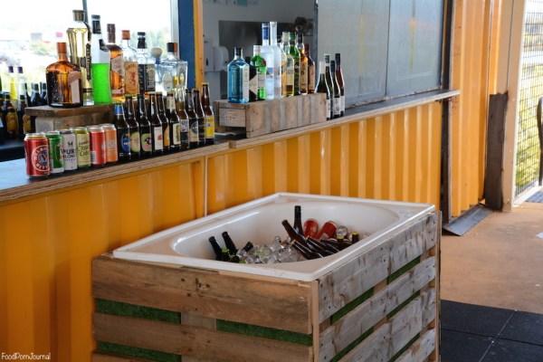 Weston Acton Aviary Bar tub