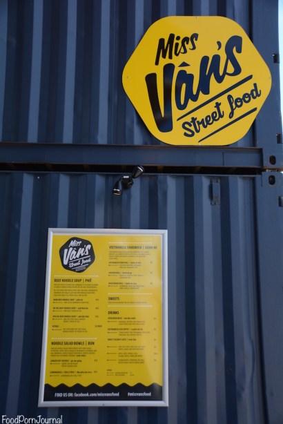 Westside Miss Vans menu