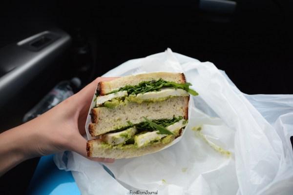 Black Star Pastry chicken avocado sandwich