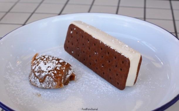 Grease Monkey Braddon ice cream sandwich
