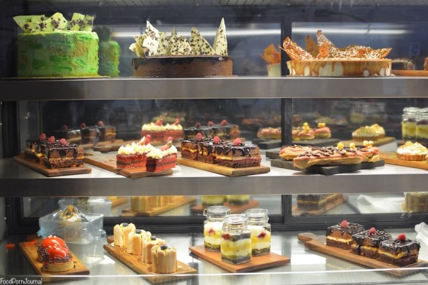 Patissez Manuka cake display