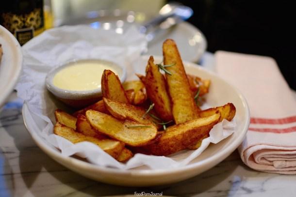 Locale Pizzeria Deakin handcut chips